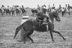 Gente de a caballo..