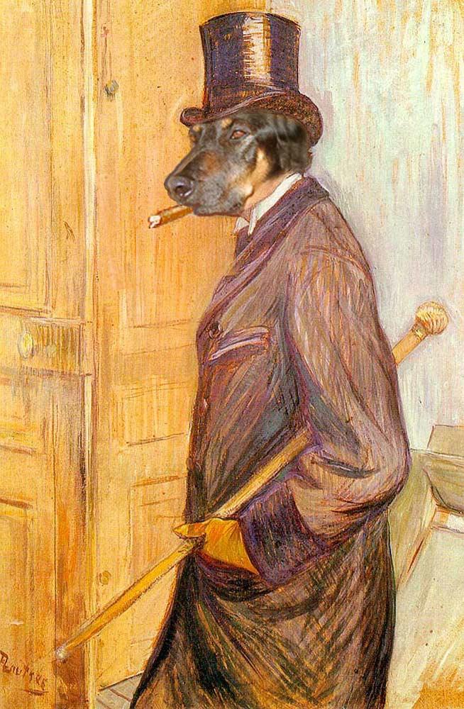 Gentleman Doghito (Lautrec)
