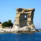 Genuesischer Wachturm im Golf von St. Florent