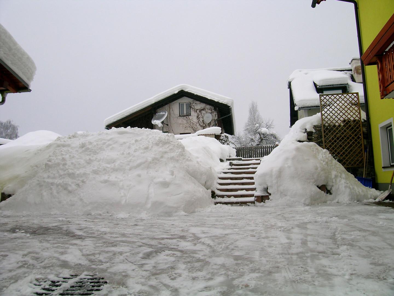 Genug Schnee!!