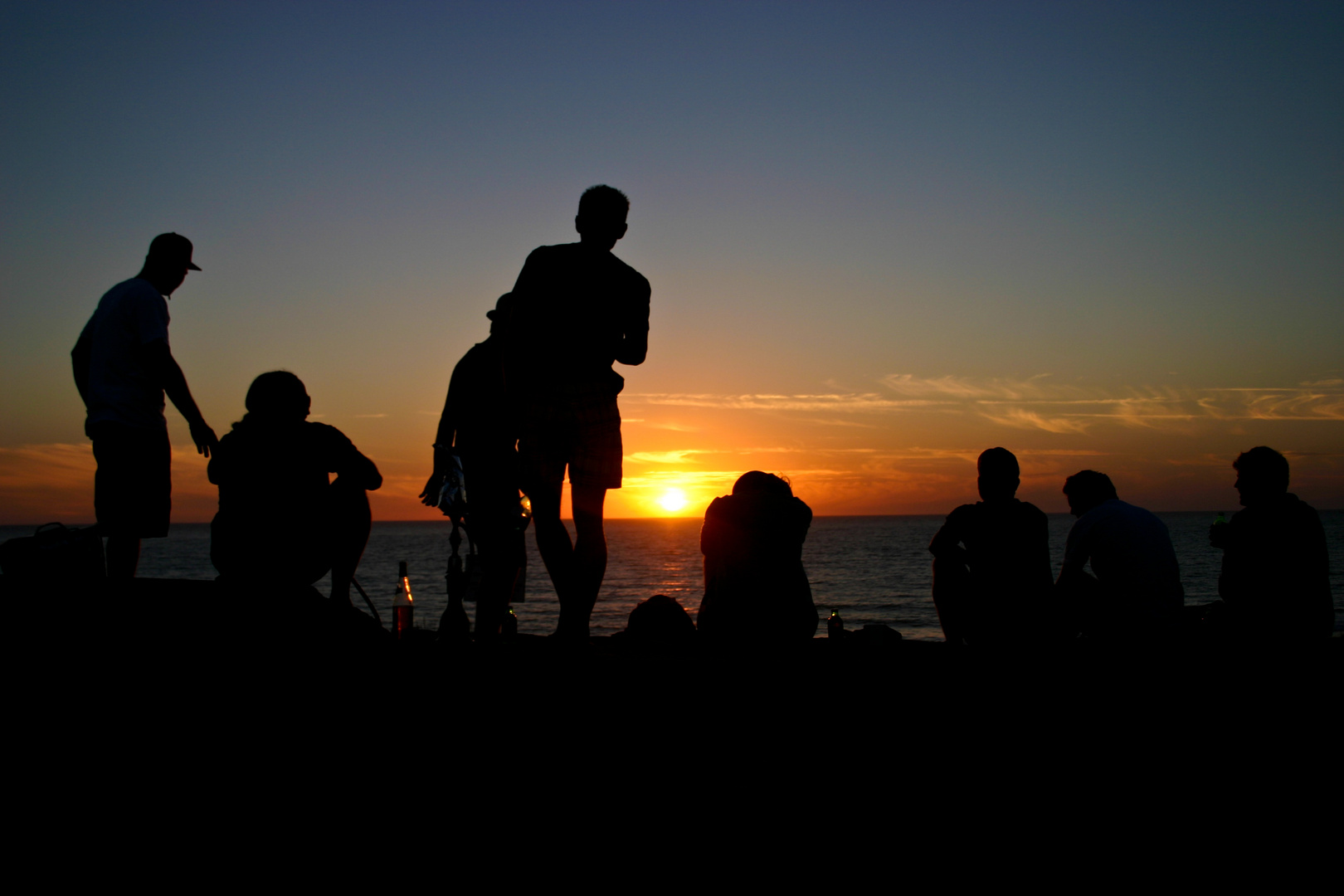 Genuß:Sonnenuntergang
