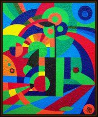 - Geometric still life -
