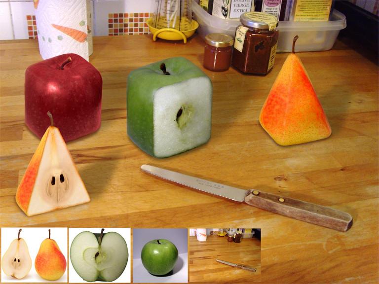 Geometrical Fruits