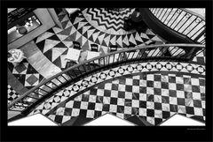 Geometrie in Schwarz und Weiß
