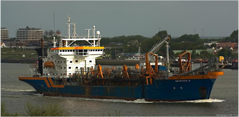 GEOPOTES 15 / Saugbagger / Port of Rottterdam