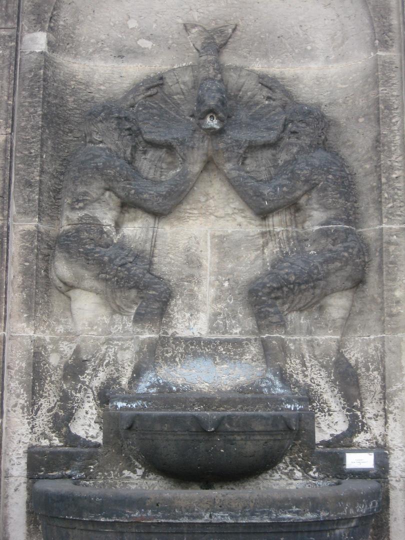 Georg Wrba schuf Otto Beutler Brunnen