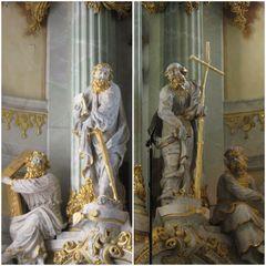 George Bähr X Frauenkirche Dresden der von Altar von C.J. Feige dem Ä.