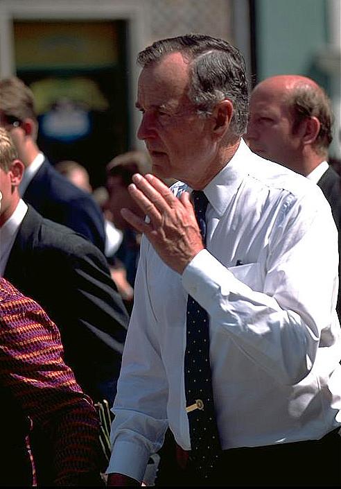 George Bush, Danzig, 1997