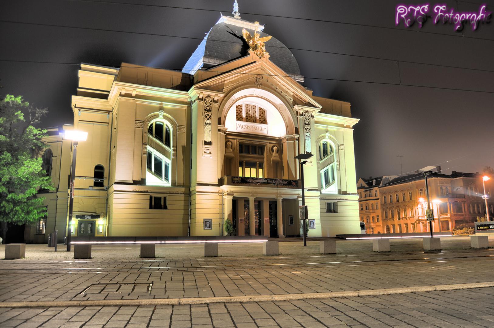 Gera Theater als HDR