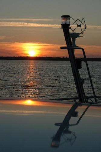 """""""gerader"""" Sonnenuntergang"""