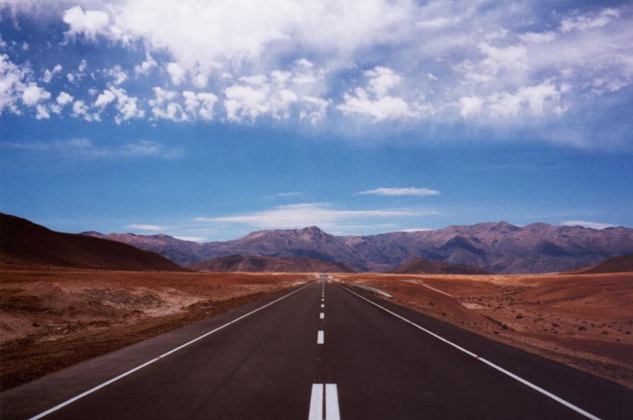 Geradewegs durch die Anden (35mm)