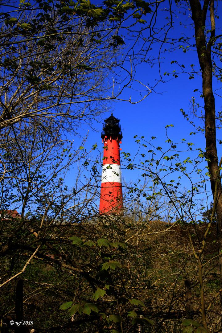 Gerahmter Leuchtturm