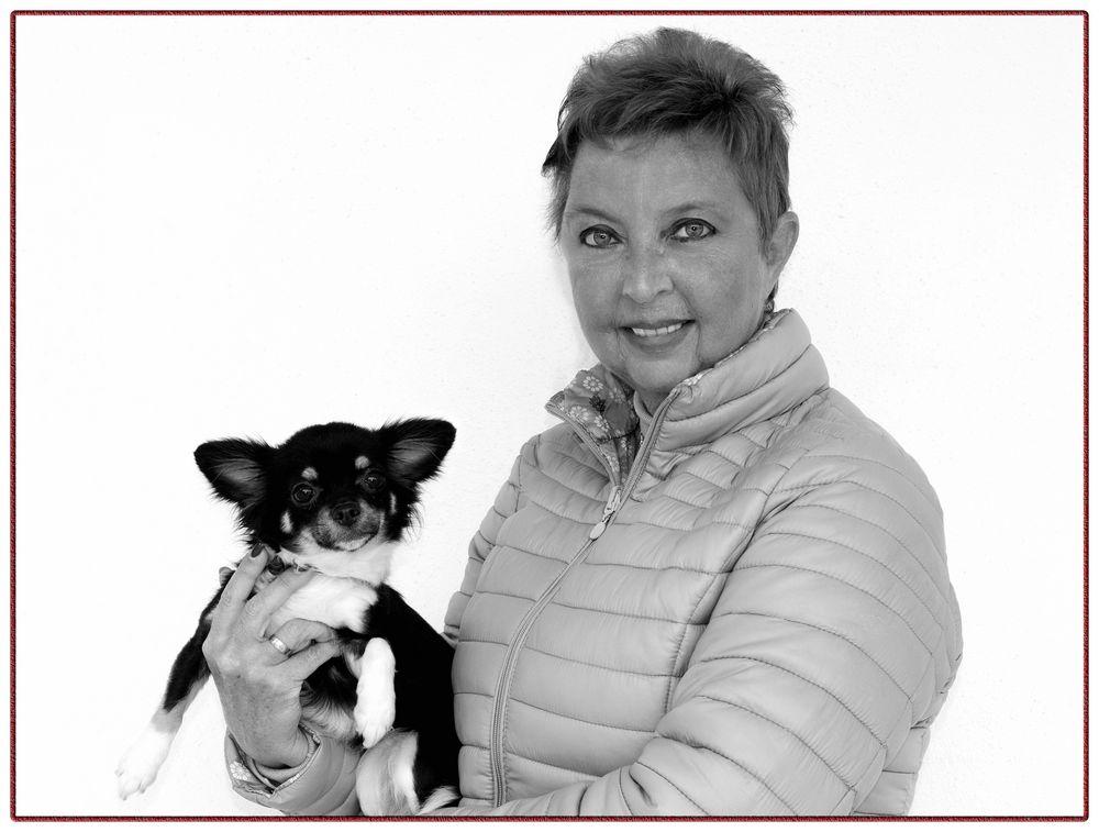 Gerda y el perro