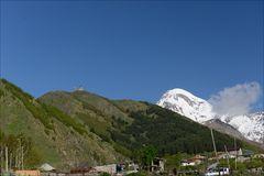 Gergeti-Kloster und Kasbek