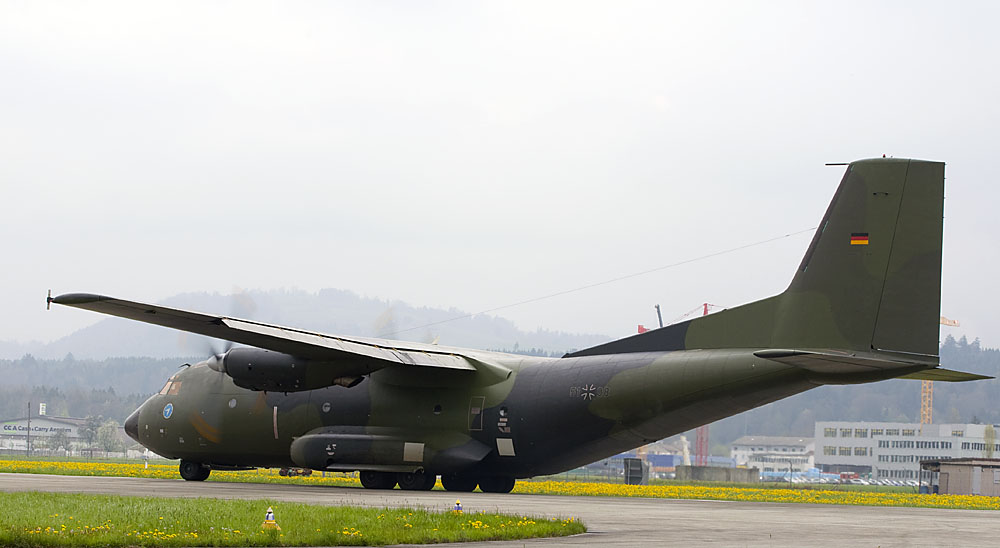 German Air Force - Transall C-160D - 50 + 08