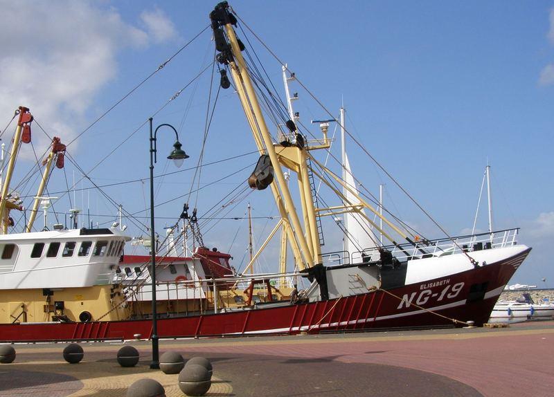 German fishingboat