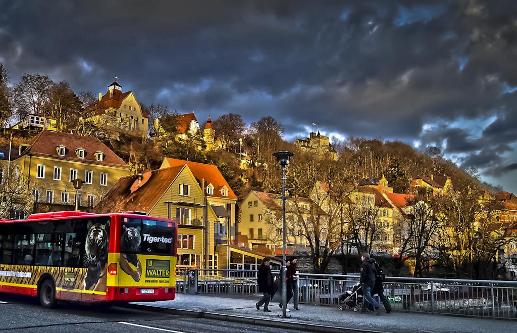 GERMANIA: Tübingen - Neckarbrücke HDR
