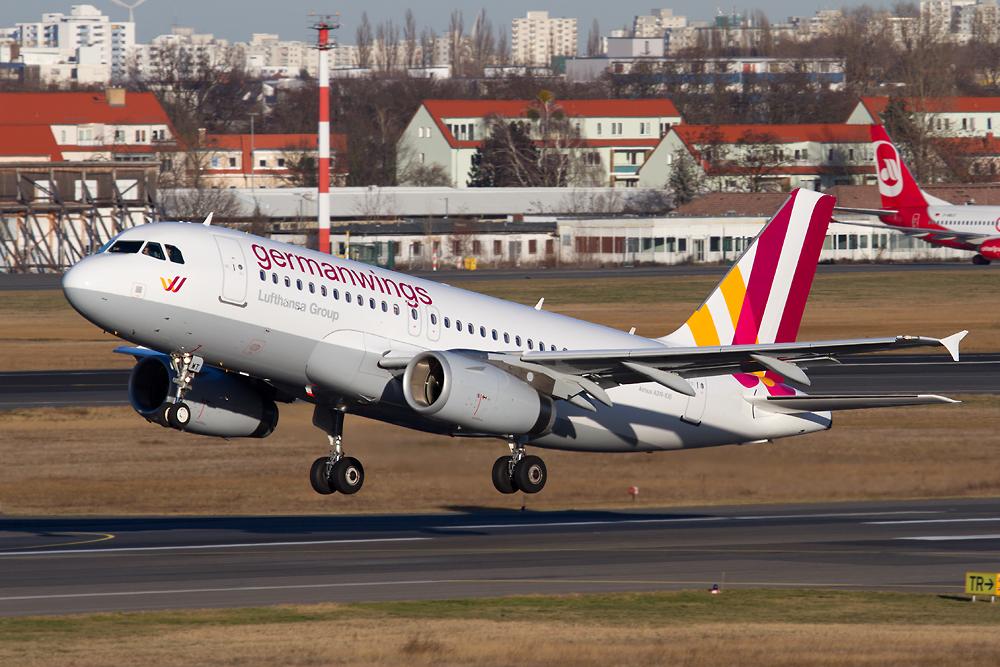 Germanwings neue Bemalung...