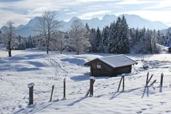Geroldsee im Winter 1