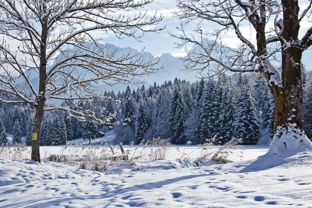 Geroldsee im Winter 2