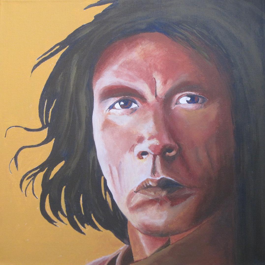 Geronimo, dargestellt von Wes Studi