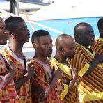 Gesangsgruppe ... in Kapstadt