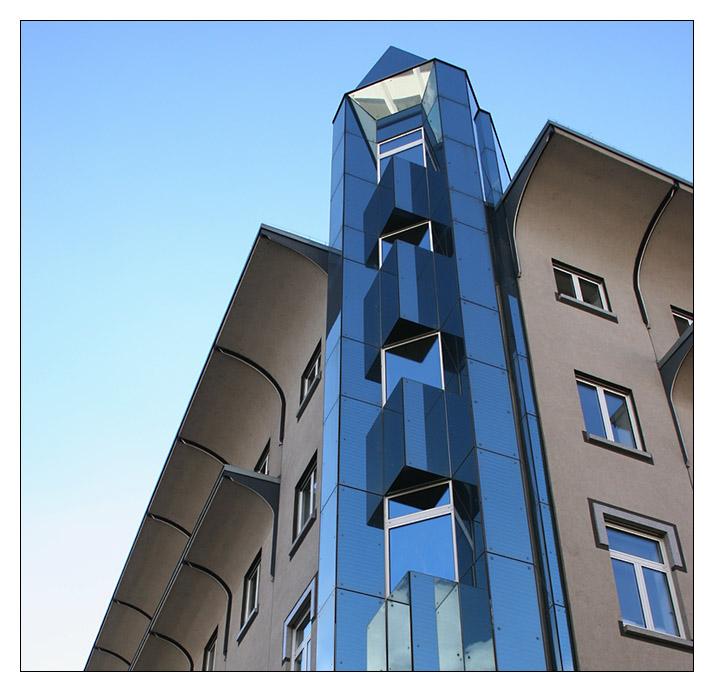 Geschäftshaus in den Mannheimer Planken