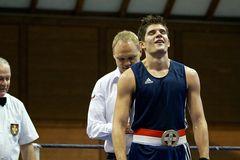 Geschafft,Schweizermeister im Boxen 2012