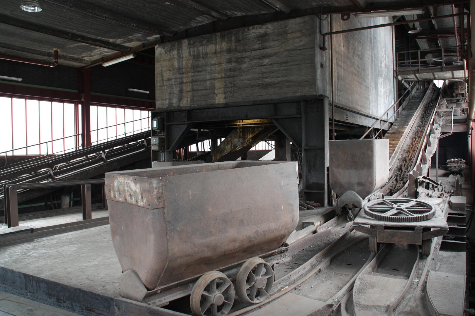 Geschichte auf Zollverein