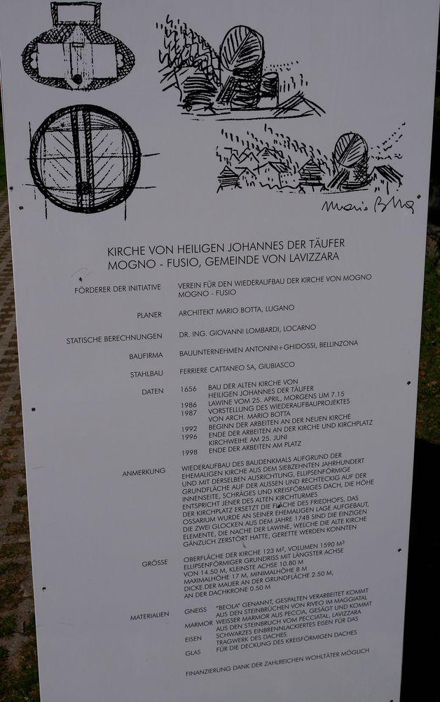 Geschichte der Kirche(n) in Mogno