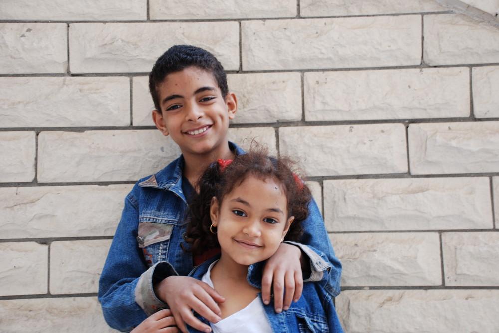 Geschwister in Egypt