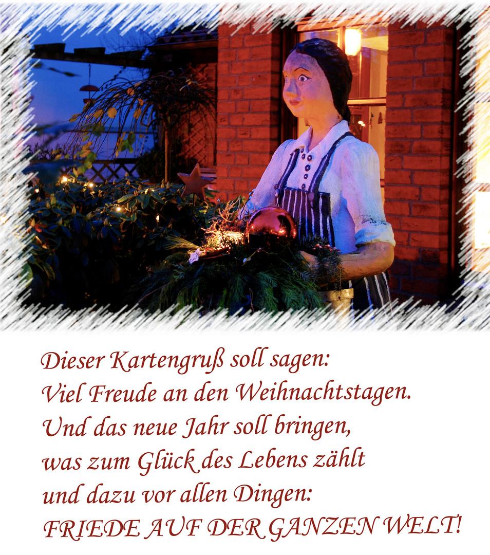Gesegnete Weihnachten! Foto & Bild | gratulation und feiertage ...