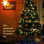 gesegnete Weihnachten...