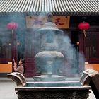 Gesehen im Longhua Tempel in Shanghai