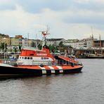 Gesehen im Rostocker Stadthafen - Hannes Hafstein