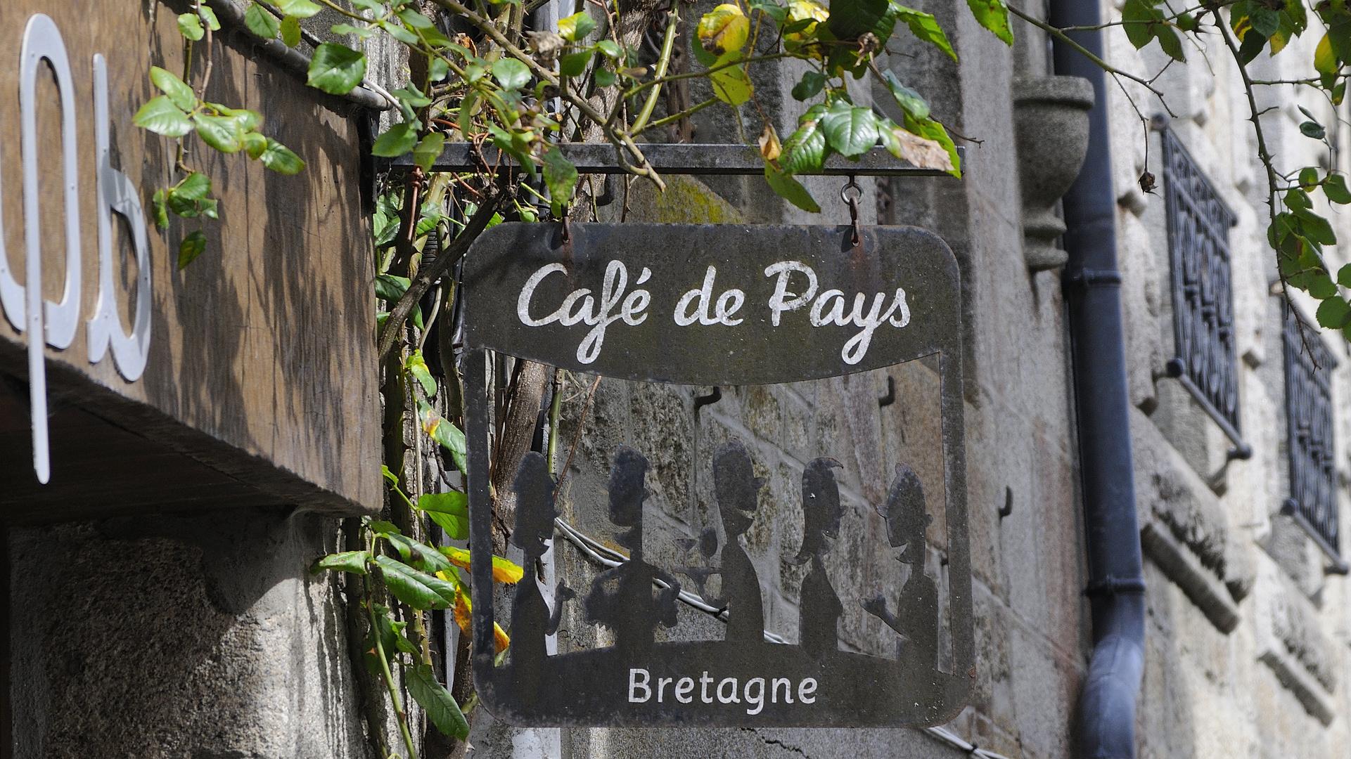 Gesehen in Moncontour, Côtes-d'Armor....