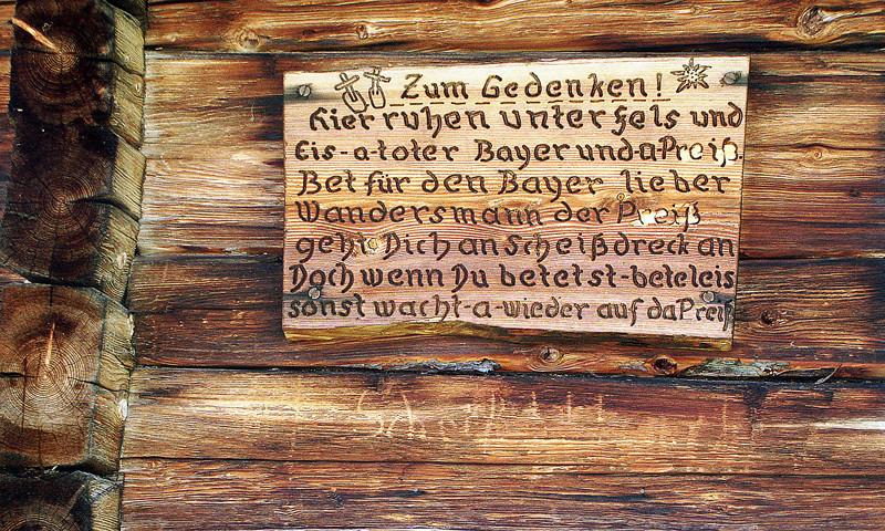 Gesehen in Tirol!