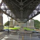 Gesicherte Harbour Bridge
