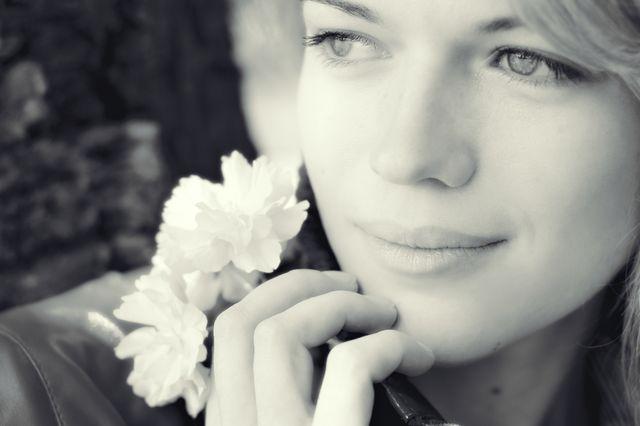 Gesicht der Frau