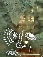 Gesicht V1 Taube Fenster Spiegel  Lum-19-34col +5 Fotos