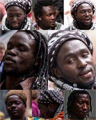 Gesichter Afrikas Color