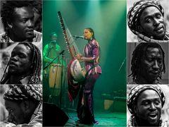 Gesichter Afrikas, die Frau steht hier im Mittelpunkt.