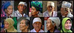 * Gesichter Balis *