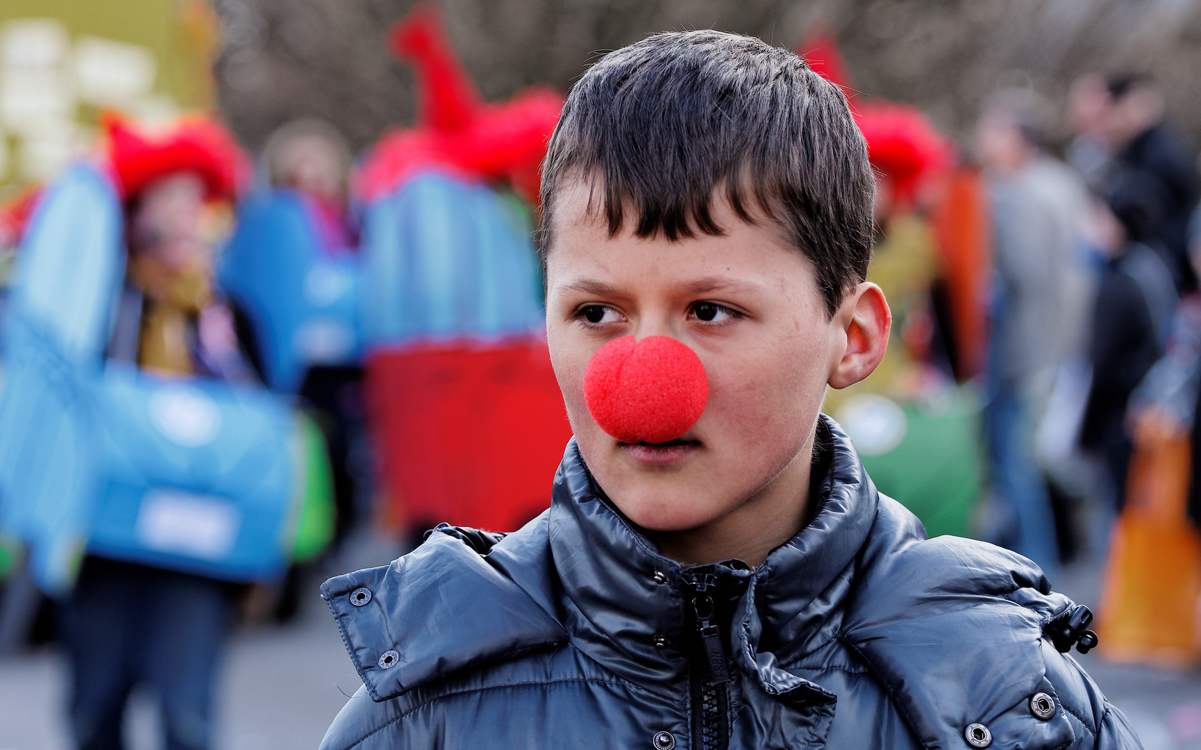 Gesichter Des Frohsinns Sehr Witzig Junior Foto Bild Jugend