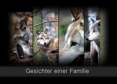 -Gesichter einer Familie-