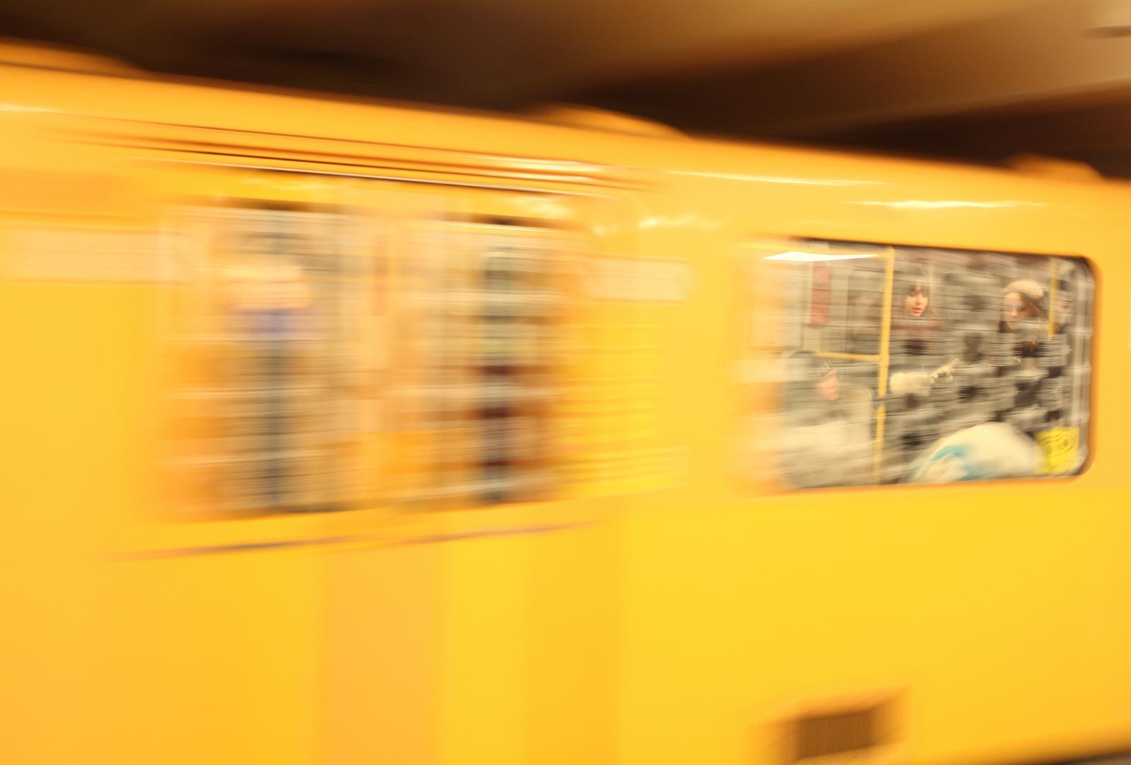 Gesichter in der U-Bahn