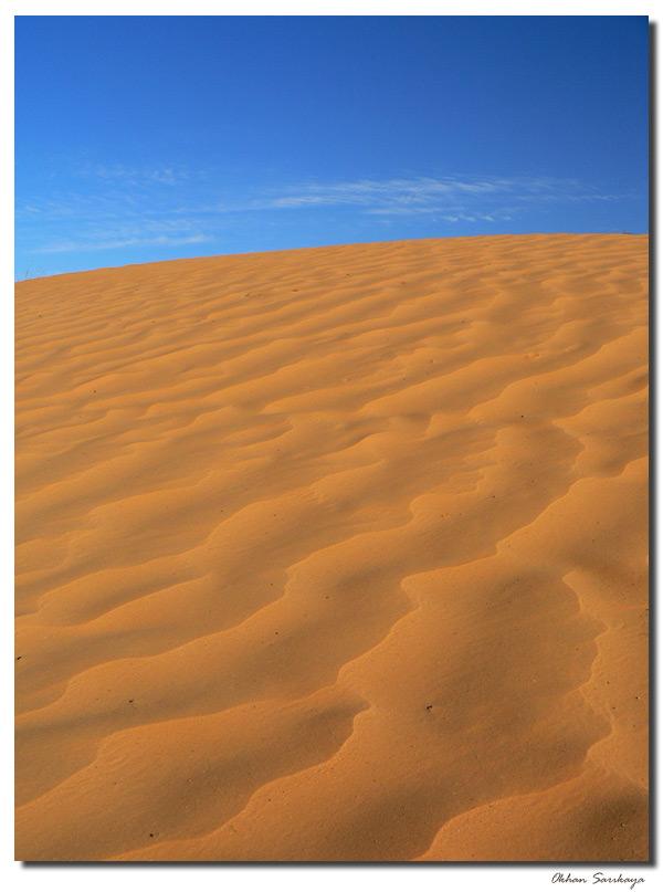Gesichter in der Wüste