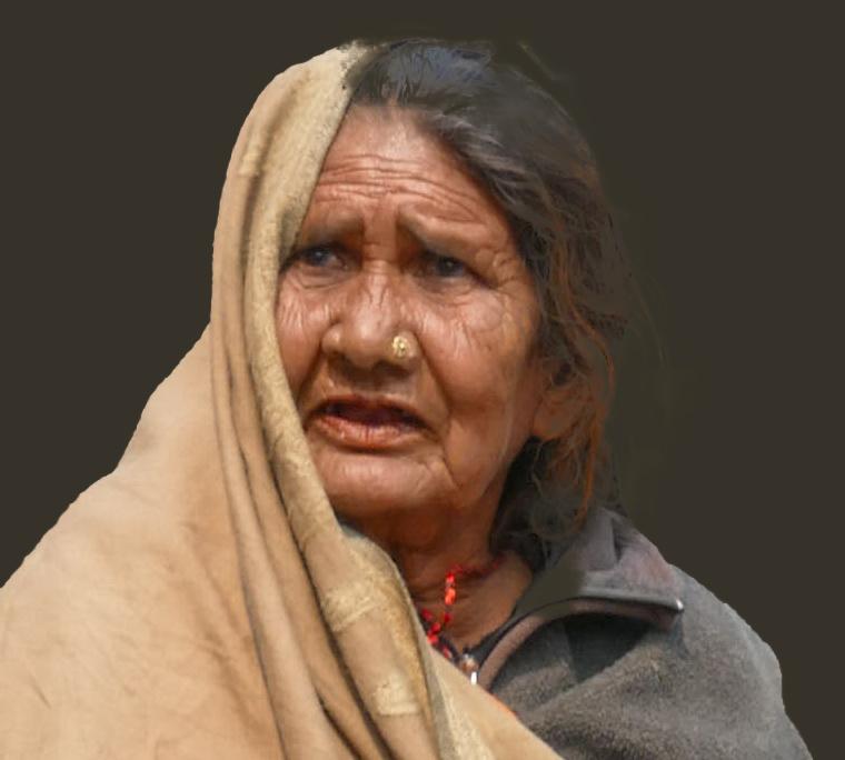 Gesichter in Indien
