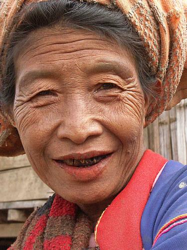 Gesichter in Myanmar V