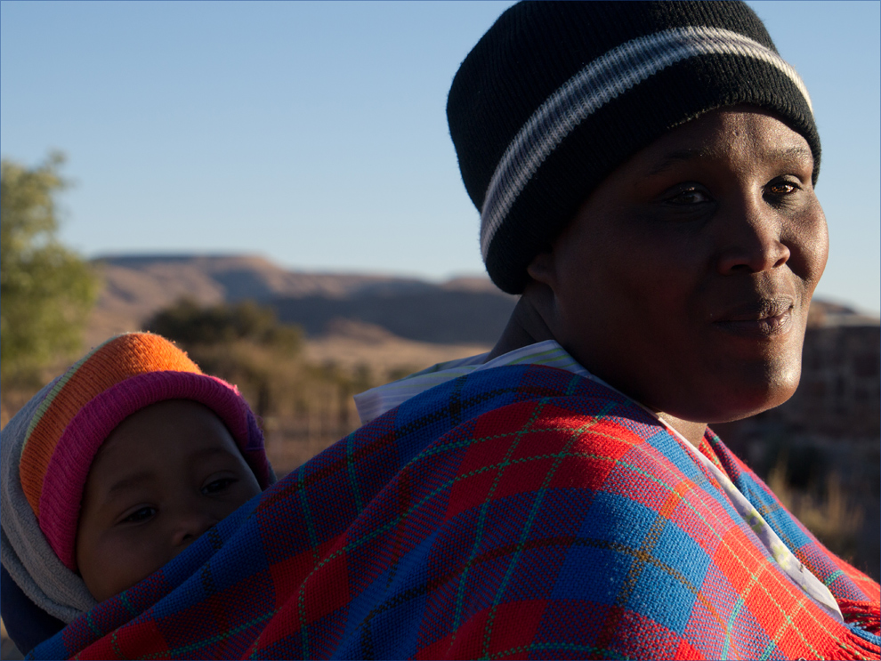 Gesichter Namibias: Wunschkind